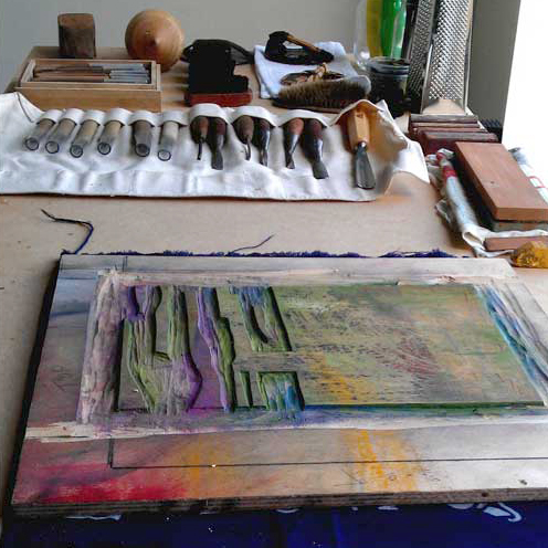 Japanese Woodblock Printing Workshop | Thelma Hulbert Gallery