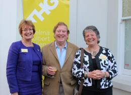 Heather Penwarden, Alan Cotton, Sue Holland (2014 Art Auction)