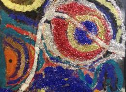 Artwork created by participants at ROC Creative Honiton