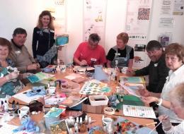 Painting4Parkinsons workshop