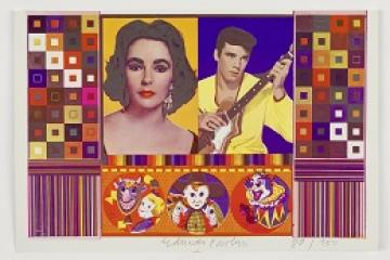 Eduardo Paolozzi : An Empire of Silly Statistics..A Fake War for Public Relations copyright Trustees of the Paolozzi Foundation. Licensed by DACS