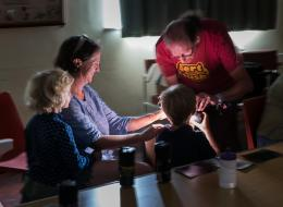 Family workshop Sidbury East Devon